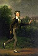 Jens Juel A Running Boy oil painting